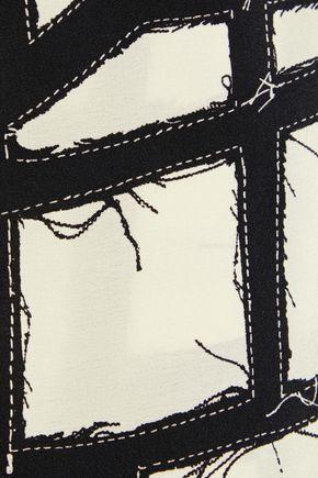 MAX MARA Cinghia printed silk crepe de chine blouse
