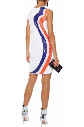 EMILIO PUCCI Sequined silk-chiffon mini dress