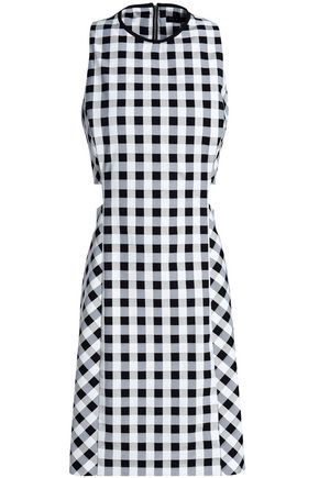 RAG & BONE Tahoe gingham cotton-blend jacquard mini dress