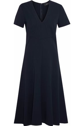 DEREK LAM Pleated crepe dress