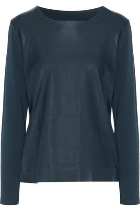 MAJESTIC FILATURES Paneled faux leather top