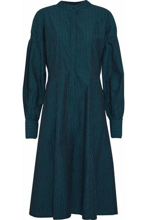 W118 by WALTER BAKER Charlotte pinstriped cotton shirt dress