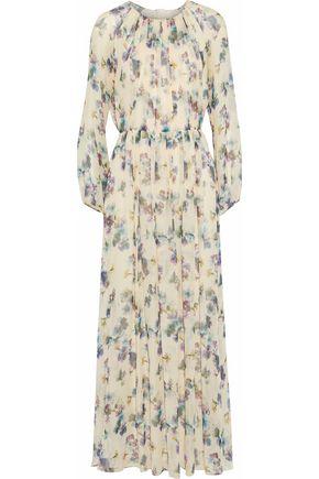 MAX MARA Alvaro floral-print silk-georgette maxi dress