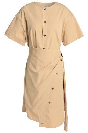 GOEN.J Cotton-blend twill mini dress