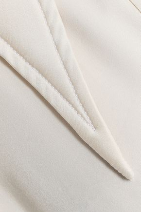 ELLERY Bilbao cutout silk-blend satin shirt