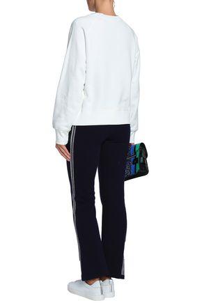 HOUSE OF DAGMAR Michelle cotton-fleece sweatshirt