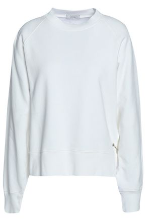 HOUSE OF DAGMAR Michelle cotton-fleece sweatshirt