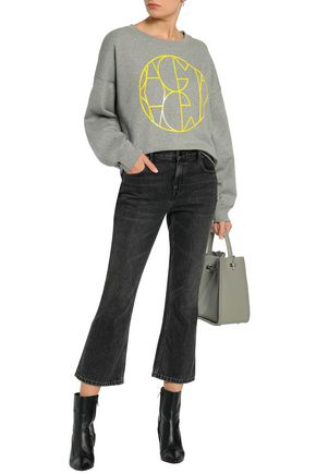 HOUSE OF DAGMAR Jam printed cotton-fleece sweatshirt