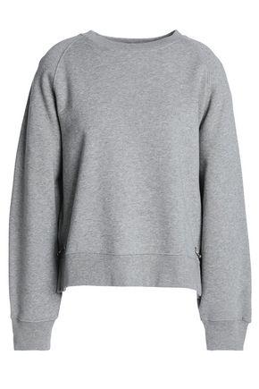 HOUSE OF DAGMAR Embellished cotton-gleece sweatshirt
