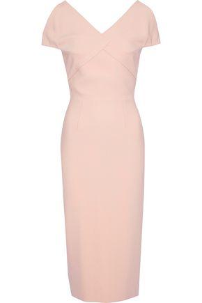 ROLAND MOURET Felmersham cutout crepe dress