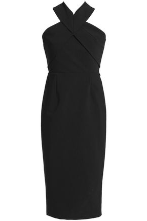 NICHOLAS Stretch cotton-blend midi dress