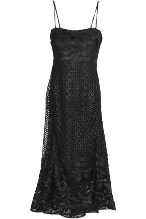 NICHOLAS Guipure lace midi dress