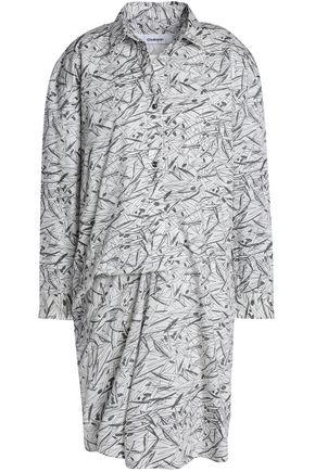 CHALAYAN Printed cotton-poplin shirt