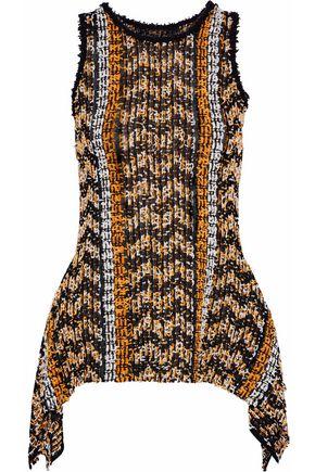 ROLAND MOURET Lepton bouclé-knit top