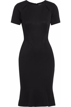 ZAC POSEN Cutout woven dress