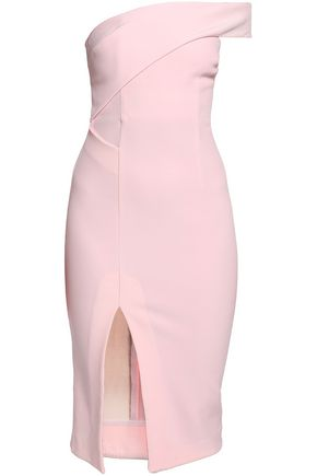 NICHOLAS Silk-crepe midi dress