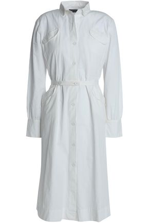 ANTIK BATIK Tay belted cotton shirt dress