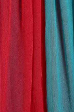 ANTIK BATIK Anais color-block georgette blouse