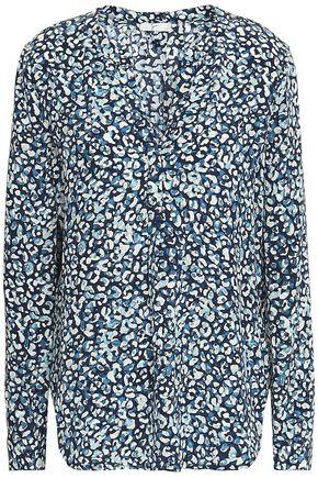 JOIE Leopard-print silk shirt