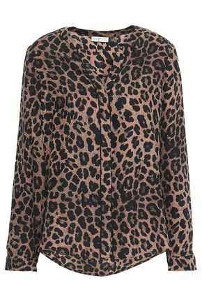 774fd3f1330980 Leopard-print silk blouse   JOIE   Sale up to 70% off   THE OUTNET
