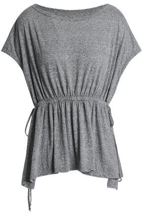 CURRENT/ELLIOTT Sawyer mélange jersey top