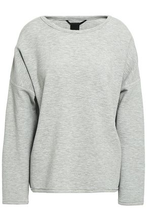 TEMPLA Cocoon crinkled-jersey sweatshirt