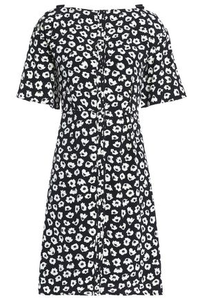 PROENZA SCHOULER Printed silk crepe de chine mini dress