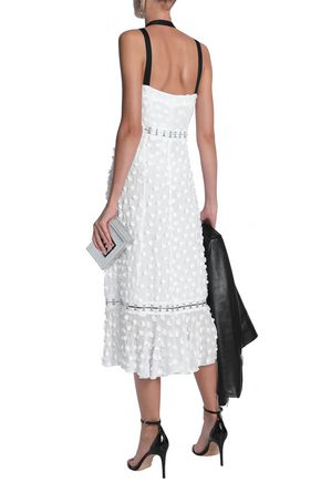 PROENZA SCHOULER Fil coupé cotton and silk-blend midi dress