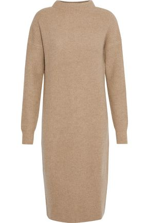 N.PEAL Ribbed cashmere dress