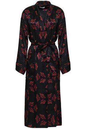 A.L.C. Silk-jacquard midi dress