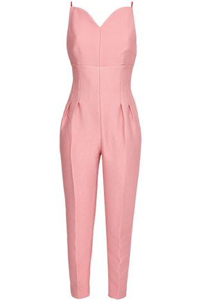 EMILIA WICKSTEAD Cloqué jumpsuit