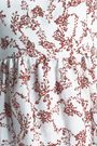 EMILIA WICKSTEAD Lucie floral-print crepe peplum wrap top