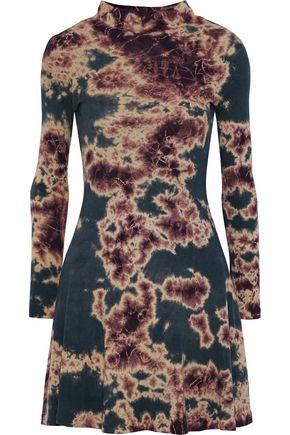 KAIN Mia tie-dyed cotton-jersey mini dress