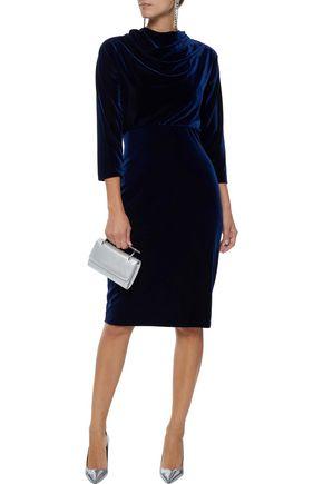 Badgley Mischka Velvet Dress