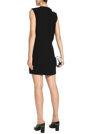 RAG & BONE Lodwick satin-trimmed crepe mini dress