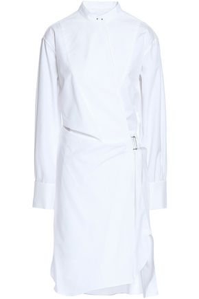 RAG & BONE Cotton-poplin wrap dress