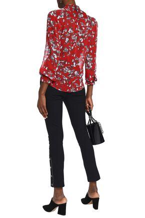 bc82a8588654fb Susan floral-print silk-georgette blouse | RAG & BONE | Sale up to ...