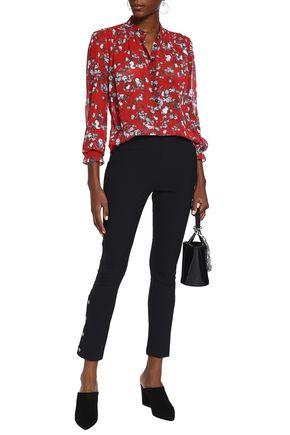 RAG & BONE Susan floral-print silk-georgette blouse