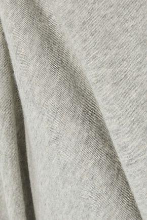ENZA COSTA Slub cotton and cashmere-blend top