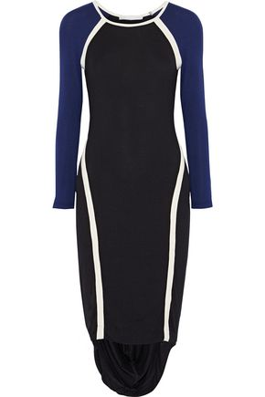 KAIN Freje asymmetric stretch-modal jersey dress