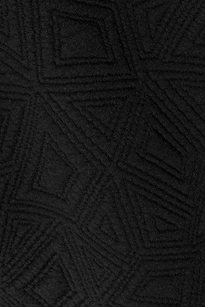 KAIN Hudson matelassé cotton-fleece sweatshirt