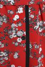 RAG & BONE Zac floral-print silk crepe de chine mini shirt dress