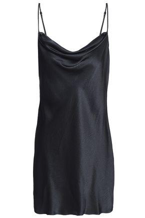 NILI LOTAN Open-back silk-satin camisole