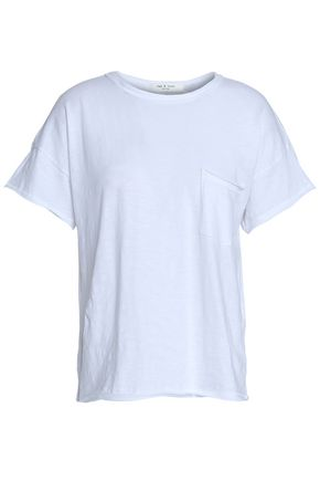 RAG & BONE Slub Pima cotton-jersey T-shirt
