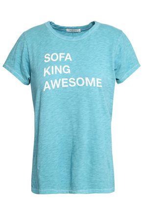 RAG & BONE Printed slub Pima cotton-jersey T-shirt