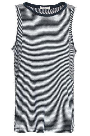 RAG & BONE Kit striped cotton-jersey tank