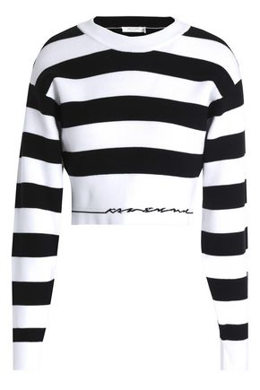RAG & BONE Sharon striped stretch-knit top
