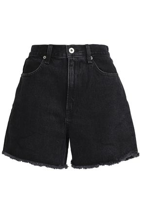 RAG & BONE Frayed denim shorts