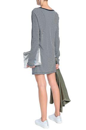 RAG & BONE Kit striped cotton-jersey mini dress