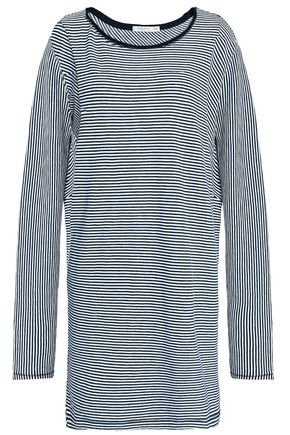 RAG & BONE Kit striped cotton-jersey mini dress
